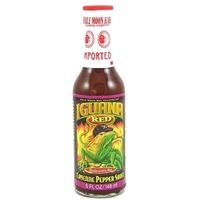 Iguana Red Moderately Hot Cayenne Pepper Sauce