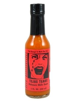 Tejas Tears Hot Sauce