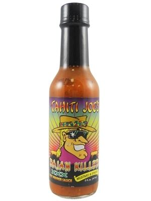 Tahiti Joe's Bajan Killer XXX Mustard and Ginger Hot Pepper Sauce