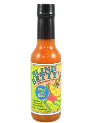 Blind Betty's Blind In The Rind Hot Sauce
