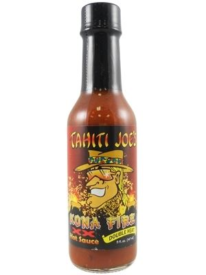 Tahiti Joe's Kona Fire XX Double Heat Hot Sauce