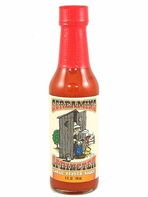 Screaming Sphincter Garlic Pepper Sauce