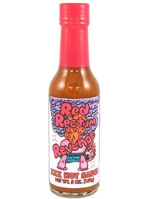 Red Rectum Revenge Hot Sauce