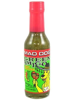 Mad Dog Green Amigo Hot Sauce