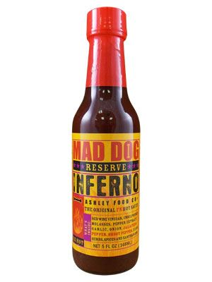 Mad Dog Inferno (NEW) Ghost Pepper Edition Reserve Hot Sauce