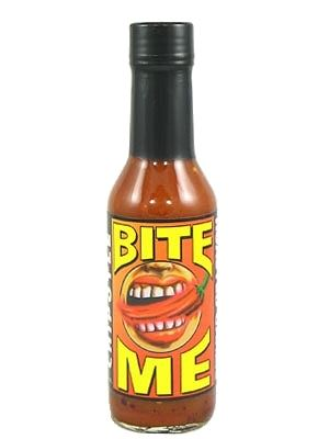 Bite Me Chipotle Garlic Hot Sauce