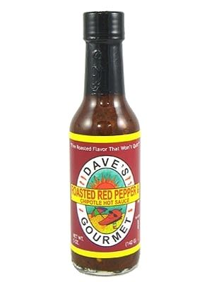 Dave's Gourmet Roasted Red Pepper & Chipotle