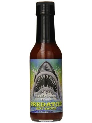 Predator Great White Shark Hot Sauce