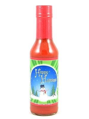 Happy Holidays Hot Sauce