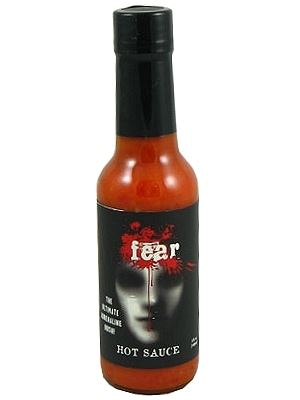 Fear Hot Sauce w/ Bhut Jolokia Pepper