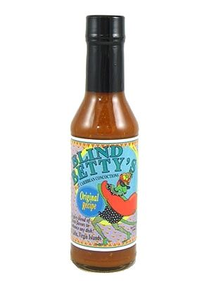 Blind Betty's Original Recipe Hot Sauce