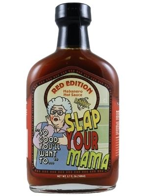Slap Your Mama Red Edition Hot Sauce