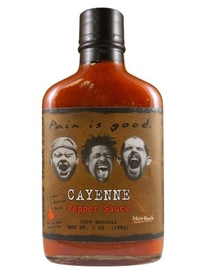 Most Wanted Pain is Good Cayenne Hot Sauce
