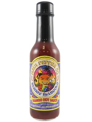 Tahiti Joe's Maui Pepper Berry Mangolo Mango Hot Sauce