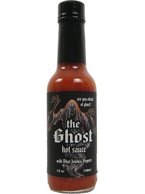 The Ghost Hot Sauce w/ Bhut Jolokia Pepper
