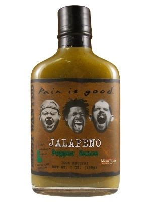 Most Wanted Pain is Good Jalapeno Hot Sauce