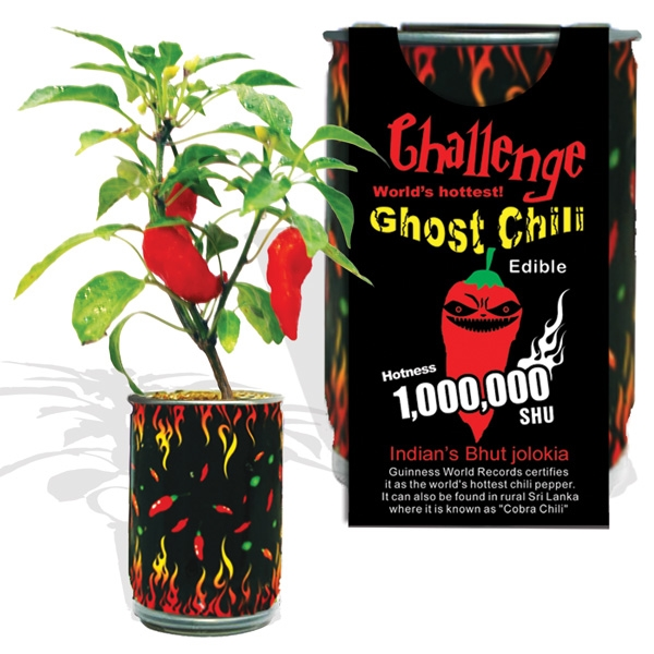 Challenge Ghost Chili Magic Plant-1,000,000 SHU