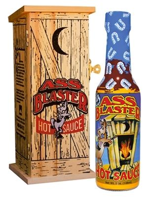 Ass Blaster Collector's Hot Sauce with Outhouse