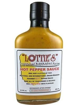Lottie's Traditional Barbados Yellow Hot Pepper Sauce