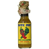 Bite Me! Lime/Cilantro Hot Sauce