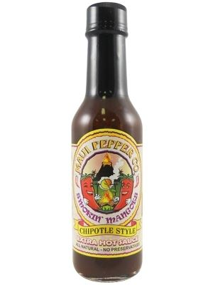 Tahiti Joe's Maui Pepper Smokin Mangoes Chipotle Style Extra Hot Sauce