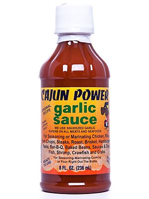 Cajun Power Garlic Sauce