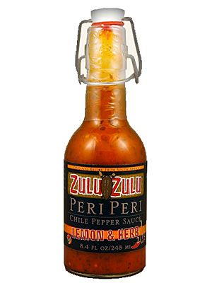 Zulu Zulu Lemon and Herb Peri Hot Sauce