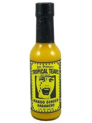 Tropical Tears Mango Ginger Hot Sauce