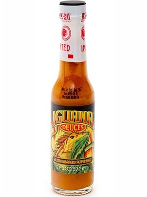 Iguana Bold Gold Habanero Mini Hot Sauce