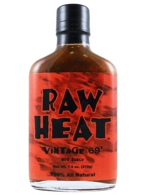 Raw Heat Vintage 69' Hot Sauce