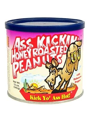 Ass Kickin' Honey Roasted Peanuts w/ Habanero Pepper