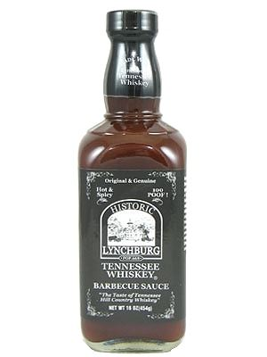 Lynchburg Tennessee Whiskey, Jack Daniels Hot & Spicy BBQ