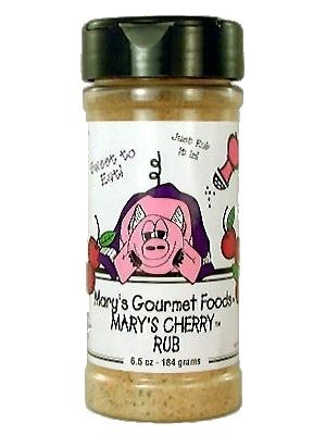 Pork Rubbers Mary's Cherry Rub