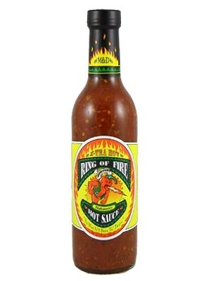 Ring Of Fire Xtra-Hot Habanero Hot Sauce