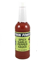 Cajun Power Spicy Garlic Pepper Sauce