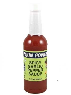 Cajun Power Spicy Garlic Pepper Sauce