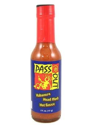 Passout Habanero Head Mash Hot Sauce