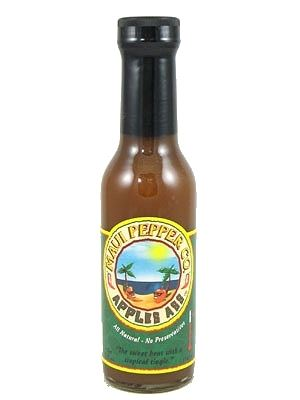 Maui Pepper Apples Ass Hot Sauce