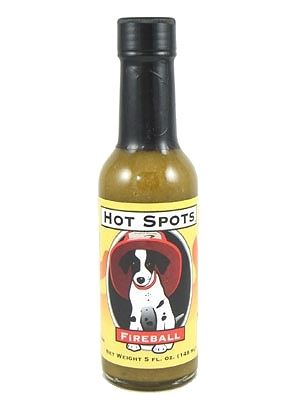 Hot Spots Fireball Hot Sauce