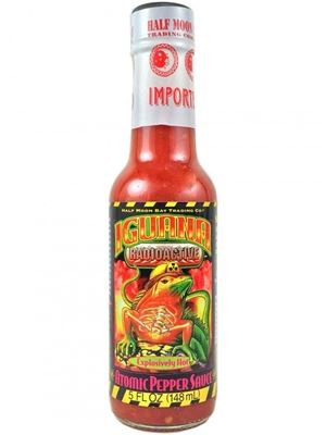 Iguana Radioactive Explosively Hot Atomic Pepper Sauce