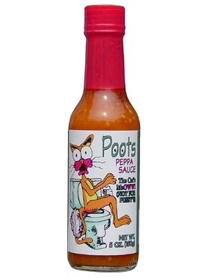 Poots Peppa Sauce, The Cats Meow