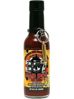 Mad Dog 357 Hot Sauce Collector's Edition with Bullet KeyChain