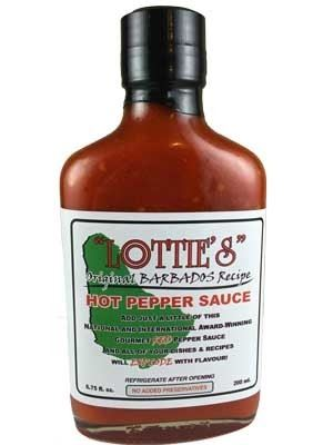 Lottie's Original Barbados Red Hot Pepper Sauce