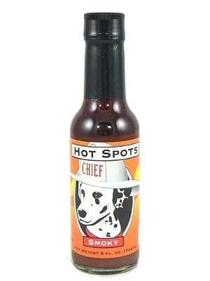 Hot Spots Chief Smoky Hot Sauce