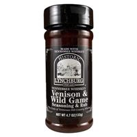 Historic Lynchburg Tennessee Whiskey Venison and Wild Game Seasoning and Rub