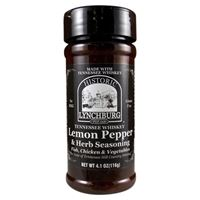 Historic Lynchburg Tennessee Whiskey Lemon Pepper and Herb Seasoning
