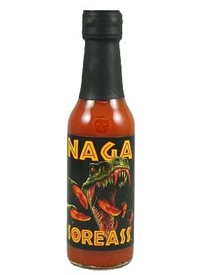 Nagasoreass Naga Jolokia Hot Sauce