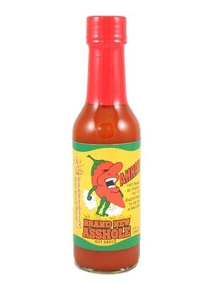 Brand New Asshole Hot Sauce