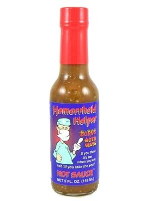 Hemorrhoid Helper Burns Both Ways Hot Sauce
