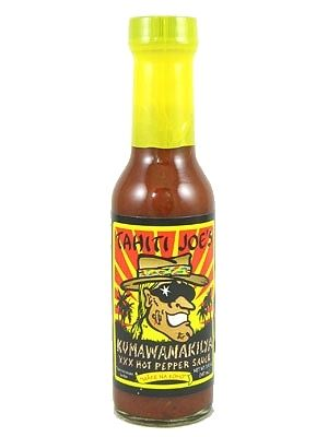Tahiti Joe's Kumawanakilya XXX Hot Pepper Sauce
